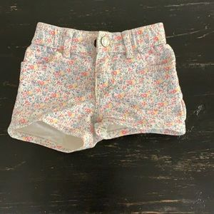 Gap Denim Floral Shorts